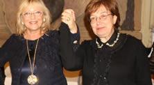 Galà 2018 – Al Presidente Palmieri il titolo di Ambasciatrice per la Pace da parte della Dott.ssa Mieli